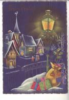 1964 Cartolina Cecami 4613 Buon Natale FG Viaggiata - Non Classificati