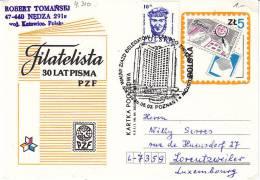 Polen Warschau 1986. Presse Press. 30 Jahre Philatelistische Presse / Kongress (4.310) - 1944-.... Republik