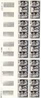 MONACO 1968 N° 768 Bosio NEUF** En Bloc De 10 - Monaco