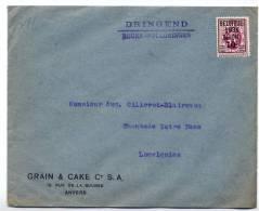 Belgique : 316 Sur Lettre De Grain & Cake Cy Anvers - 1929-1937 Heraldischer Löwe