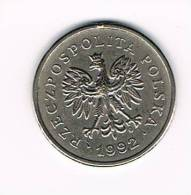 POLEN  1 ZLOTY  1992 - Pologne