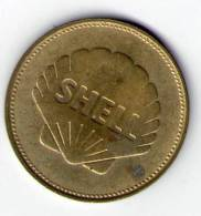 MEDAILLE SHELL, ESPACE, ETIENNE & JOSEPH MONTGOLFIER, 1783. (NJ05) - Tokens & Medals