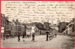 CPA 59 BERGUES Place Du Marché   ( P30 ) - Bergues