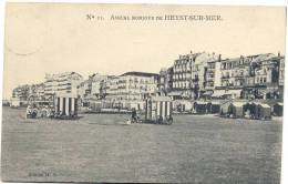 HEYST-SUR-MER-N°11 AMICAL BONJOUR DE HEYST-SUR-MER-ENVOIE 1908-EDIT.H.T. - Heist