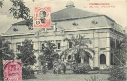 COCHINCHINE CHOLON L'HOTEL DE VILLE VOYAGEE EN 1908 - Vietnam
