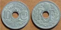 1941 - France - 10 CENTIMES, Lindauer, Etat Français, Zinc - France