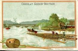 Chocolat GUERIN BOUTRON Série Moyens De Transports Le Radeau - Guerin Boutron