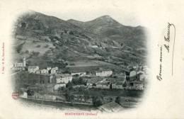 26 - BEAURIERES  (Drôme) -Vue Générale  Précurseur  ( Cachet Beaurières 1904) - Autres Communes