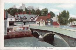 POSTCARD ARUNDEL CASTLE FROM THE ARUN WELLINGTON SERIES CIRCA 1910 - Arundel