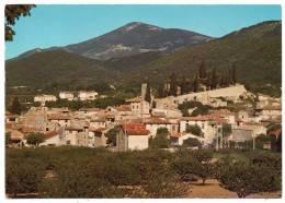 84 - Malaucene - Charmant Village Au Pied Du Mont Ventoux - En Arrière Plan, Le Mont Serein - Malaucene