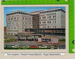 DUNKERQUE :  L´hopital Voitures En Stationnement - Dunkerque