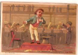 """Chromos """"Au Bon Marché""""/Aristide Boucicaut Et Fils/Les Installations/Fanfare/Testu & Massin/vers 1878       IM292 - Au Bon Marché"""