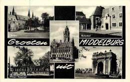 Pays Bas -hollande - Ref 377- Middelburg    - Carte Bon Etat - - Middelburg