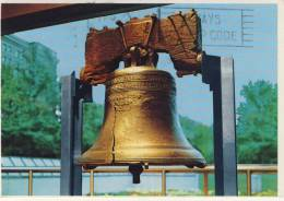 The Liberty Bell (Glocke, Cloche ) On Independence Mall, Philadelphia, PA, Air Mail - Philadelphia
