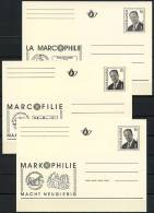 BE   Carte 16 Fr  --  Albert II  --  Entiers Postaux  --  Postwaardestukken   ---   Les 3 Langues - Stamped Stationery