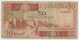 SOMALIE 50 SHILIN  TB - Somalie