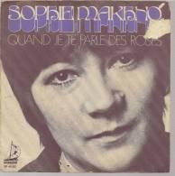 "45 Tours SP - SOPHIE MAKHNO  - SPINNAKER 45552  "" QUAND JE TE PARLE DES ROSES "" + 1 - Vinyl Records"