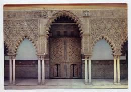 Espagne--SEVILLA--REALES ALCAZARES DE SEVILLA--Porte Du Salon Des Embassadeurs -- Cachet  Et Timbre Felipe II -Rubens - Sevilla