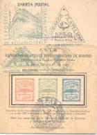 E.F.I.R. EXPOSICION FILATELICA INTERNACIONAL DE ROSARIO JUIO DE 1941 ESPERANTO RARISIME ARGENTINA - Esperanto