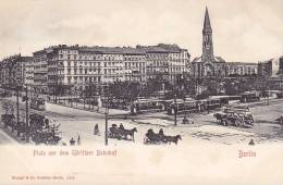 CPA - BERLIN - Platz Vor Dem Görlitzer Bahnhof - 3475 - Allemagne