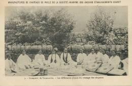Tananarive Tressage Chapeaux Anciens Ets Coanet Pub Nancy, Sarralbe, Pont D Essey - Madagascar