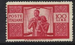 SS6348 - REPUBBLICA , Democratica 100 Lire Nuovo Senza Gomma - 1946-60: Nuovi