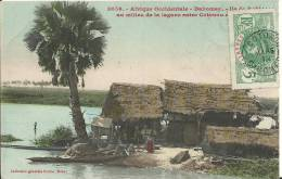 DAHOMEY.  Ile De Robinson Au Milieu De La Lagune Entre Cotonou Et .... - Dahomey