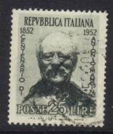 SS6349A - REPUBBLICA , Mancini Filigrana Lettere 8/10 Sinistra - 6. 1946-.. Repubblica