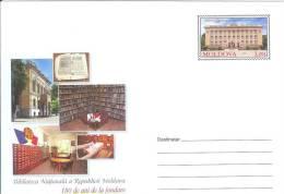 Moldova 2012 Chisinau, National Library - Moldova