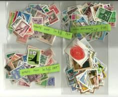 LOT DE 10 Pochette De TIMBRES EUROPE  ASIE - Stamps