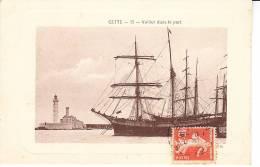 CETTE - Voilier Dans Le Port - Sete (Cette)