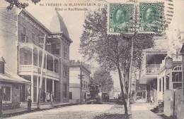 CPA - SAINTE THERESE DE BLAINVILLE - Hôtel Et Rue Blainville - Autres