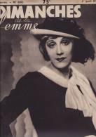 DIMANCHES DE LA FEMME N°630 1° AVRIL 1934/MARY MARQUET/AU PAYS BASQUE ARTS DANSES ET JEUX - Journaux - Quotidiens