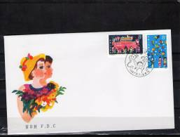 CHINE 1987 FDC - 1949 - ... People's Republic