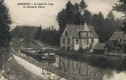 Dordives Le Canal Du Loing Le Moulin De Nancay Edit Leloup Peniche Batellerie Voyagé - Dordives