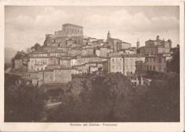 SORIANO NEL CIMINO ( VITERBO ) PANORAMA - 1937 - Viterbo