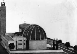 """Bellissima   Cartolina   Anni 50        """"  BATTIPAGLIA -  Costruenda  Chiesa  - Lato Sud Est  """" - Battipaglia"""