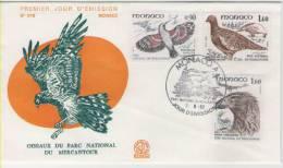 FDC Monaco 1982 Birds / Oiseaux  II - Vögel
