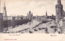 CPA - MOSCOU - Quai De La Moskva - 12233 - Russie