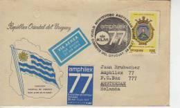 VUELO MONTEVIDEO AMSTERDAM  AMPHILEX   URUGUAY  OHL - Uruguay