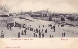 CPA - MOSCOU - Le Kremlin Vu Du Pont De Pierre - 12231 - Russie