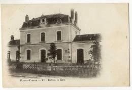 BELLAC. - La Gare - Bellac