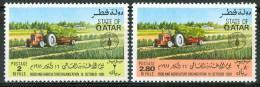 1981 Qatar FAO Agricoltura Agriculture Set MNH** Spa180 - Qatar