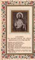 Lithanies Du Sacré-Coeur De Jésus - Images Religieuses