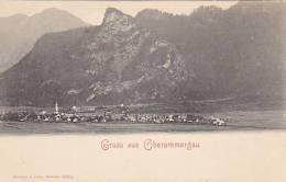 Germany Oberammergau Gruss Aus