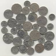 AUSTRALIE 5 CENTS X 16  + 10 CENTS  X 8  +20 CENTS  X 12 + 50 X 5  CENTS - Collections