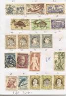 CZECHOSLOVAKIA 1955/56 U Priced At 5.30 Euro TL-1 - Sammlungen (im Alben)