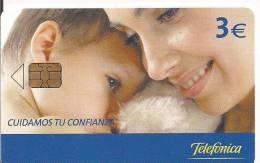 CUIDAMOS TU CONFIANZA TIRADA 11.500 - Tarjetas Telefónicas
