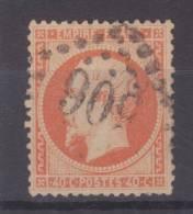 Lot N°20469   Variété/n°31, Oblit  GC 506 BLOIS (40), Point Blanc Aprés 4 De 40C - 1863-1870 Napoleon III With Laurels