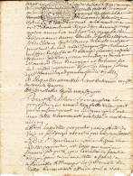 Généralité De Dijon, 1726  (un S. 4 Den.) – 4 Pages, Papier Vergé - Matasellos Generales